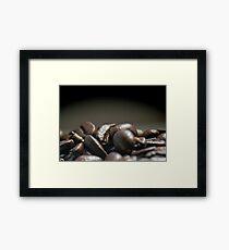 Coffee Beans Macro Framed Print
