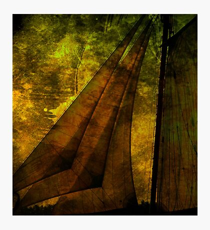 Night Sailing Photographic Print