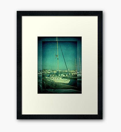 Lake Michigan Pier ©  Framed Print