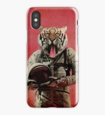 Space tiger iPhone Case/Skin