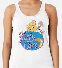 Kitty Care logo Racerback Tank Top