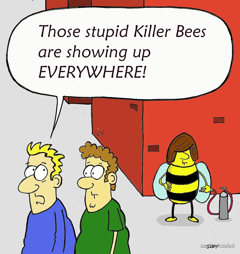 no country for old bees by sardonicsalad