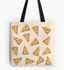Niedliches Tumblr Pizza-Muster Tote Bag