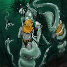 DEEP SEA HYDRAS by Ray Jackson