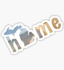 Michigan, My Home Sticker