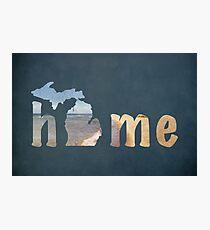 Michigan, My Home Photographic Print