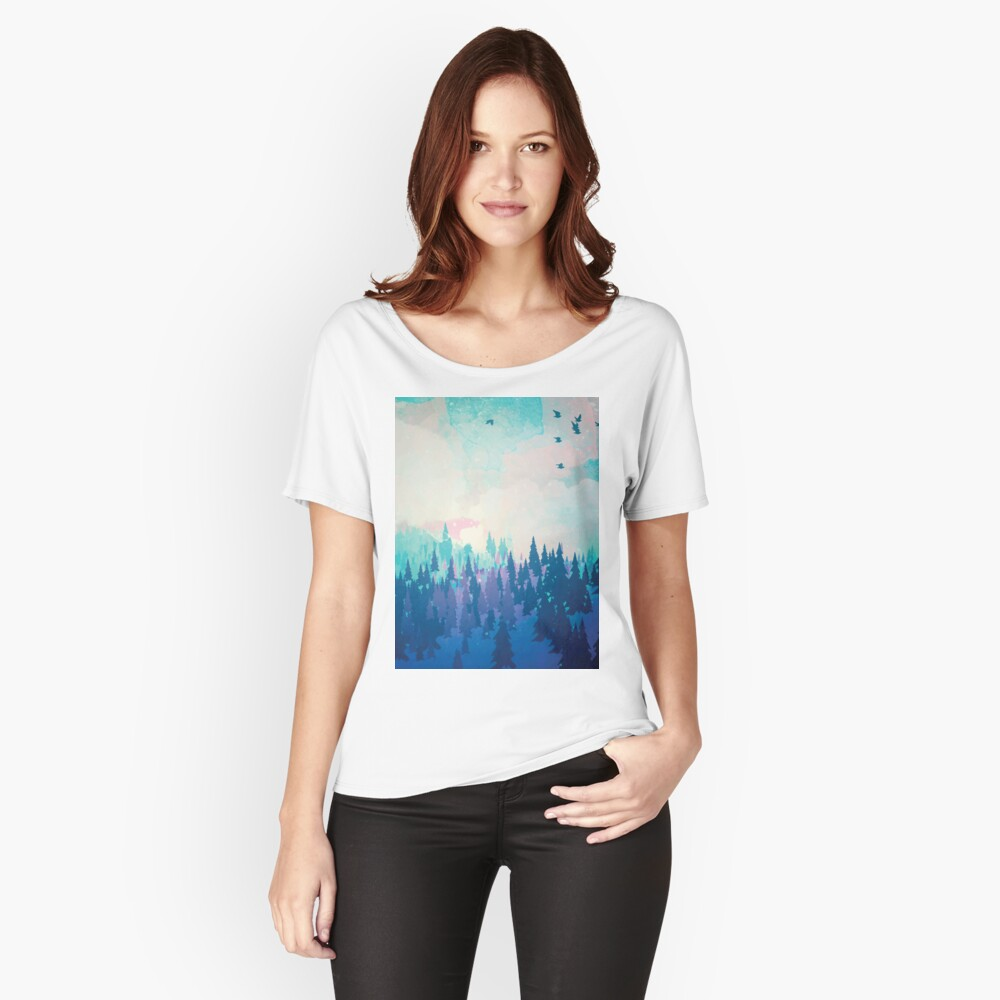 Forest Relaxed Fit T-Shirt