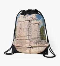 Lions Along The Saone River Drawstring Bag