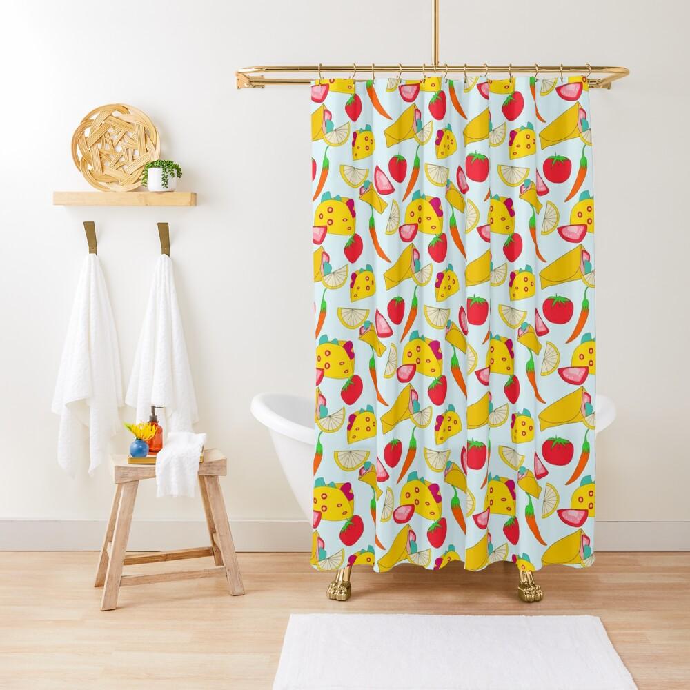 Burraco Fest Shower Curtain