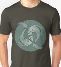 Pisces Skulls Slim Fit T-Shirt