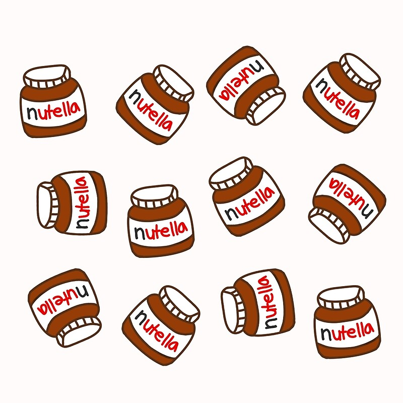 Cute tumblr nutella pattern tote bags by deathspell redbubble cute tumblr nutella pattern voltagebd Choice Image