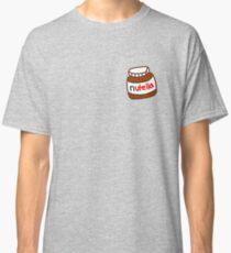 Cute Tumblr Nutella Pattern Classic T-Shirt