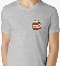 Cute Tumblr Nutella Pattern T-Shirt
