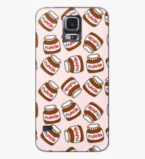 Cute Tumblr Nutella Pattern Case/Skin for Samsung Galaxy