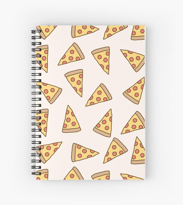 Niedliches Tumblr Pizza-Muster von deathspell