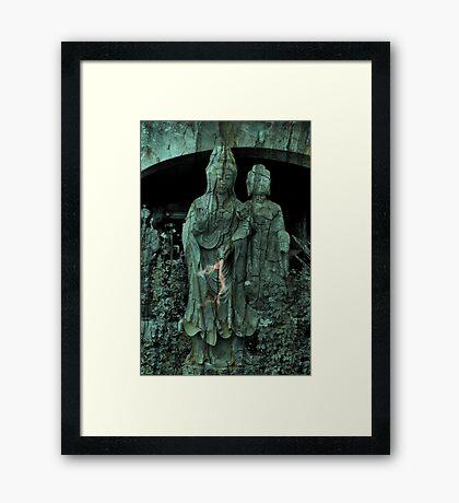 buddha rxd Framed Print