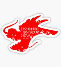 House Mushu Sticker