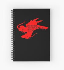 House Mushu Spiral Notebook