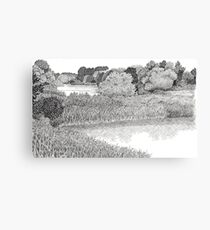 A Beautiful Day - Pen Drawing Canvas Print