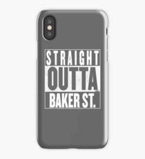 STRAIGHT OUTTA BAKER ST. iPhone Case/Skin