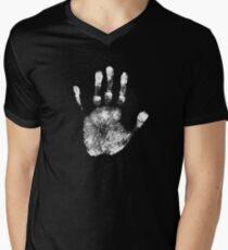 Handprint Men's V-Neck T-Shirt