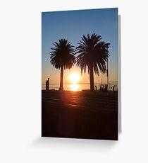 Sunrise at Eastern Beach - iphone Greeting Card
