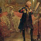 Excerpt Frederick the Great Flute Concert..Flötenkonzert by edsimoneit