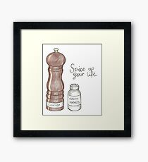 Spice Up! Framed Print
