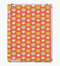 Tulips-orange iPad Case/Skin