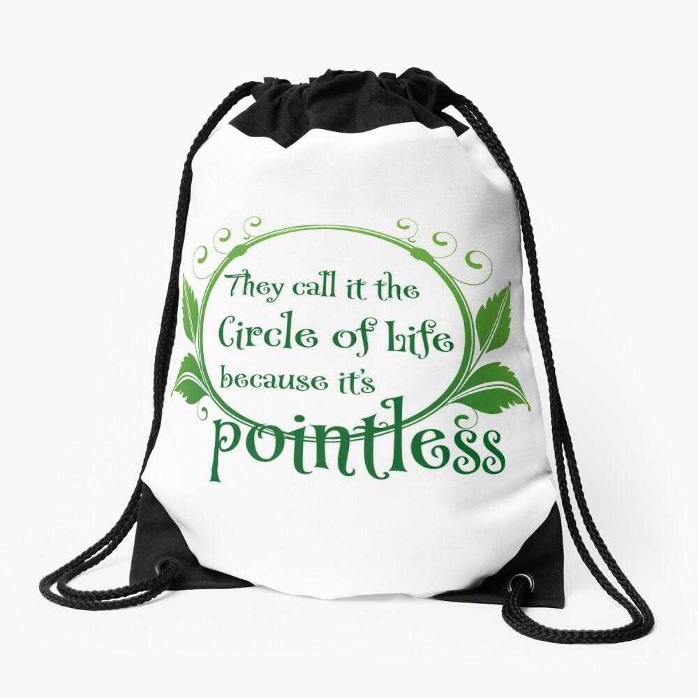Pointless Drawstring Bag