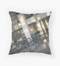 Cafeteria Throw Pillow