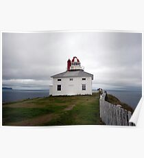 Cape Spear Lighthouse Poster