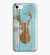 Wooden Stag iPhone Case/Skin