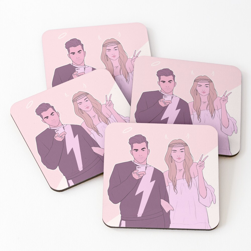 Those Rose Kids Coasters (Set of 4)