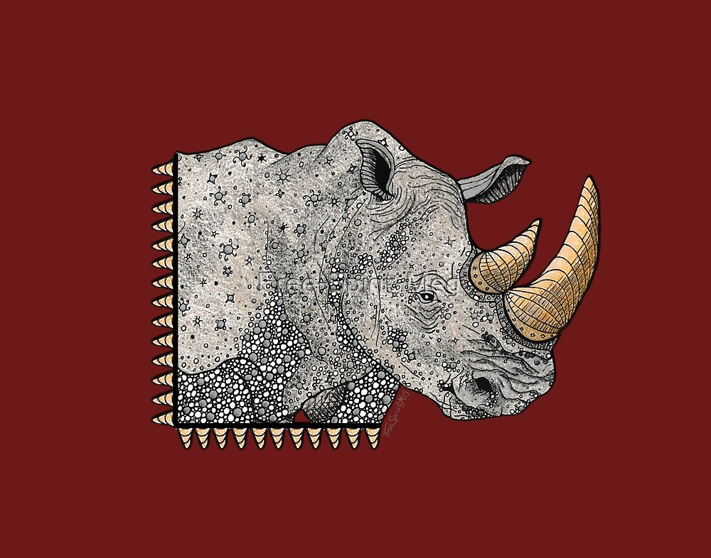 Rhino Totem by Free-Spirit-Meg