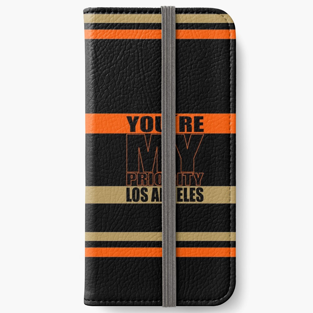 Los Angeles You are My priority fans sport iPhone Flip-Case