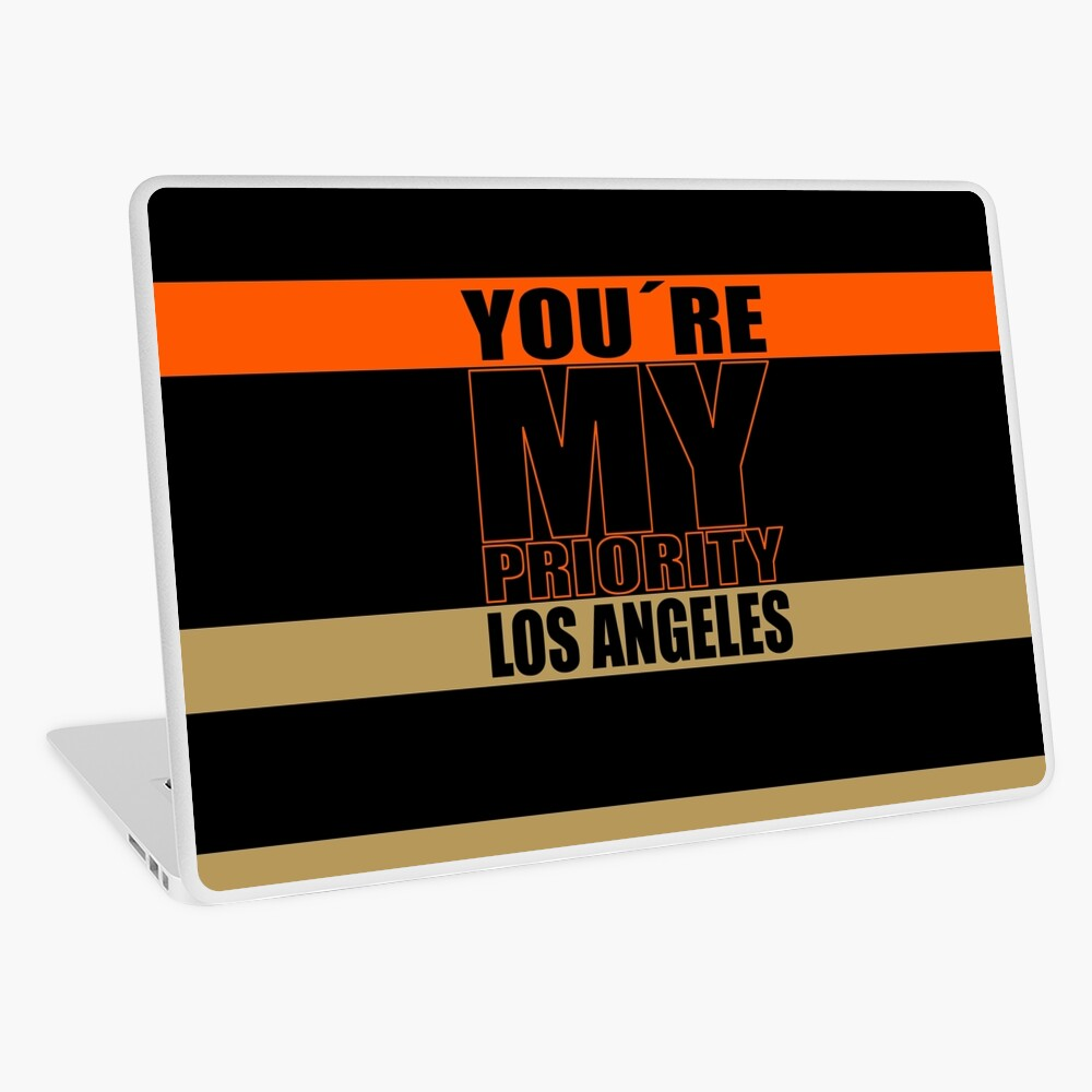 Los Angeles You are My priority fans sport Laptop Folie