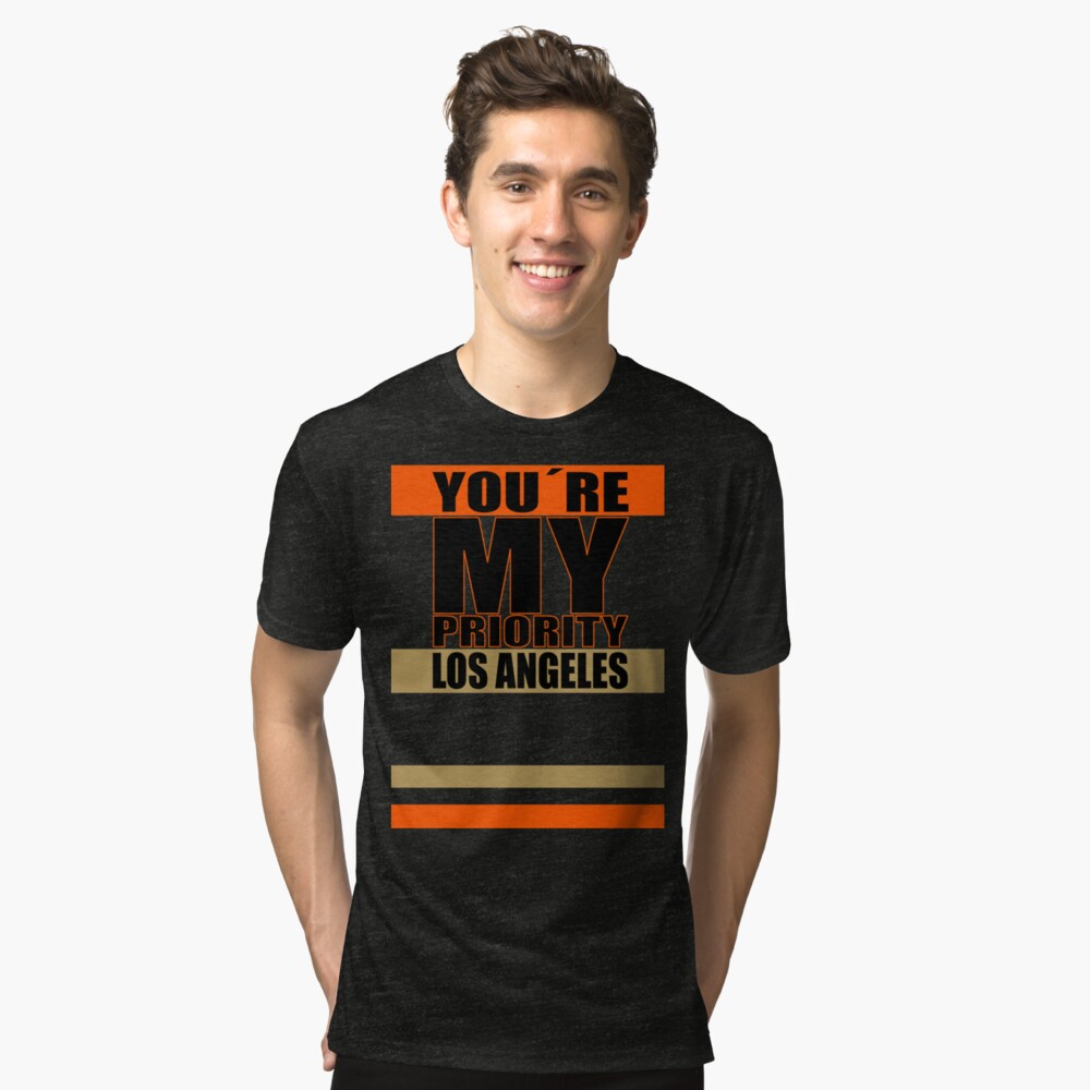 Los Angeles You are My priority fans sport Vintage T-Shirt