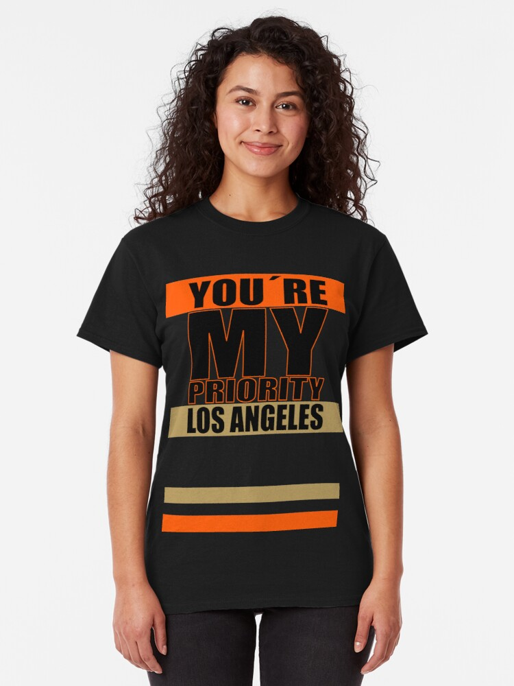 Alternative Ansicht von Los Angeles You are My priority fans sport Classic T-Shirt
