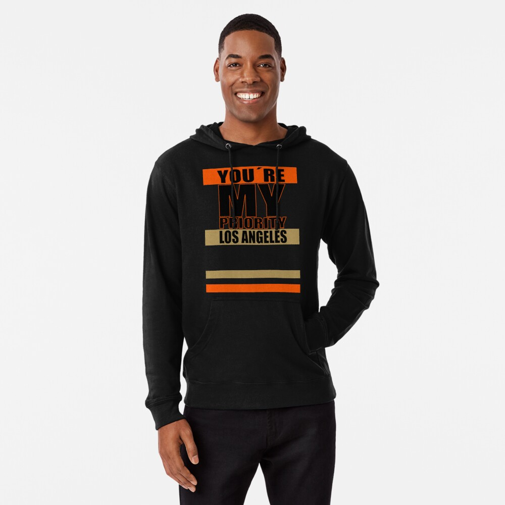 Los Angeles You are My priority fans sport Leichter Hoodie