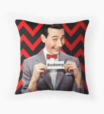 Pee Wee Herman- Sodomy Throw Pillow