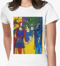 In Harmony Womens Fitted T-Shirt