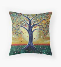 'The Giving Tree' (Dedicated to Shel Silverstein) Throw Pillow