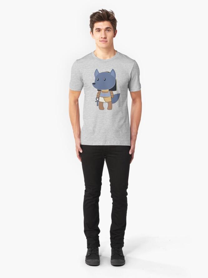 Alternate view of Tiny Anubis Slim Fit T-Shirt