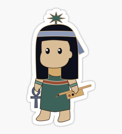 Tiny Seshat Sticker