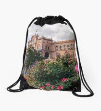 Plaza de España - Seville, Spain  Drawstring Bag