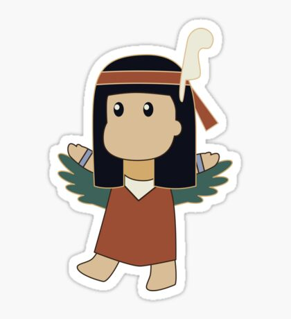 Tiny Maat Sticker