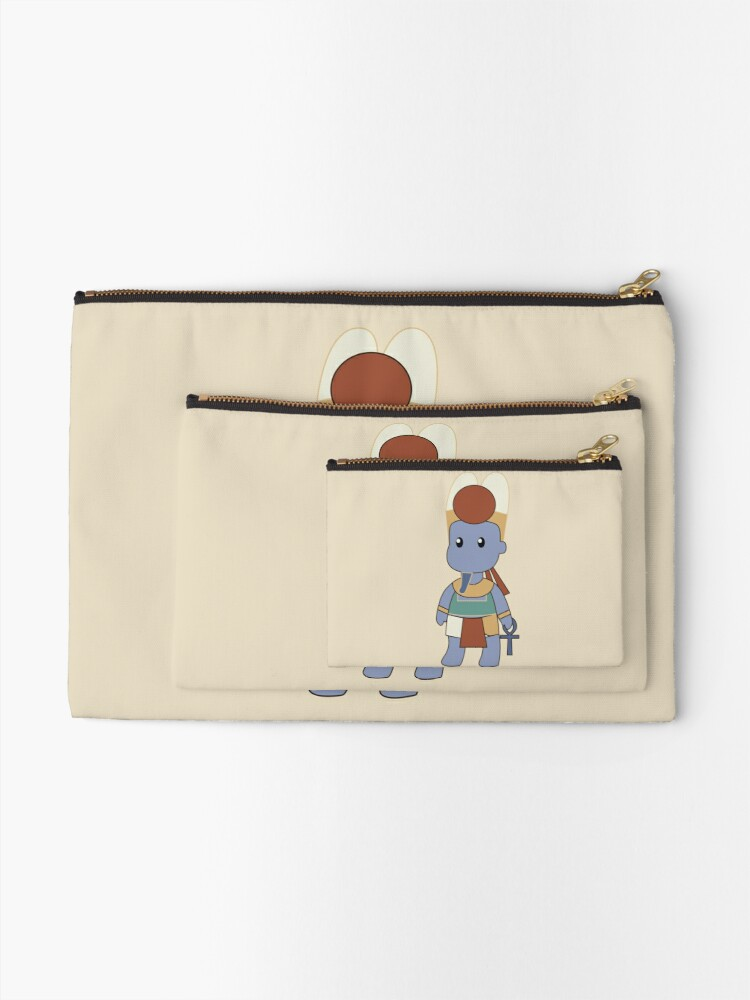 Alternate view of Tiny Amun Zipper Pouch