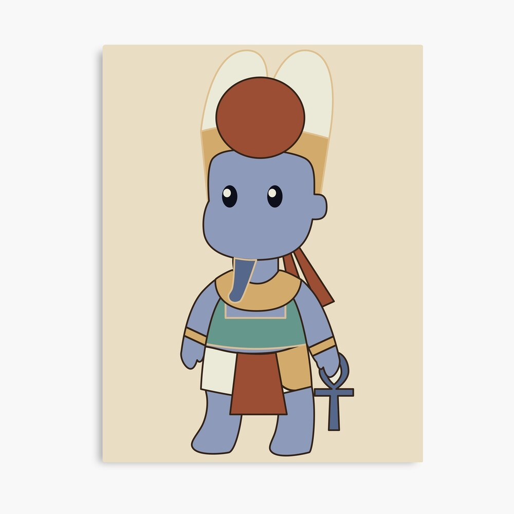 Tiny Amun Canvas Print