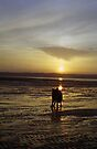 Sunset beach by Michael Haslam